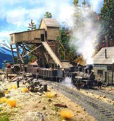old train coal loader