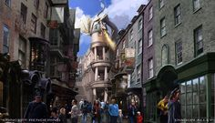 "In case you haven't heard, Islands of Adventure's Wizarding World of Harry Potter is expanding into Universal Orlando this summer. | Everything You Need To Know About Universal's ""Wizarding World Of Harry Potter: Diagon Alley"""