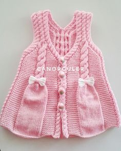 Boys and girls babies most beautiful baby weaves, annotated baby hats . Baby Cardigan Knitting Pattern, Knitted Baby Cardigan, Baby Pullover, Knitted Baby Clothes, Lace Knitting, Kids Knitting Patterns, Knitting For Kids, Baby Patterns, Crochet Summer Dresses
