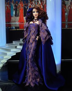 Miss Qatar 2013/2014 - International Pageant Collection - NiniMomo Doll