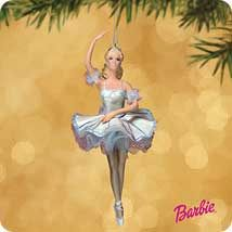 2002 Barbie as Snowflake Nutcracker Ballet