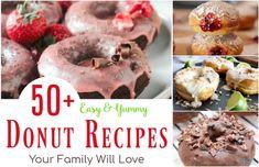 Baked Pumpkin Doughnuts Recipe, Jelly Donuts Recipe, Vegan Donut Recipe, Baked Donut Recipes, Homemade Donuts, Caramel Drizzle Recipe, Nutella Donuts, Making Donuts, Baking Buns