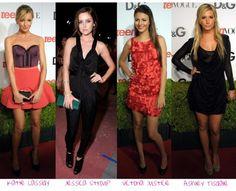 Todo ano a Teen Vogue faz uma festa que reúne novos talentos de Hollywood, oferece coquetel de fruta e de quebra um desfile, que dessa vez foi de D&G direto da semana de moda de Milão. E como estenderam um tapete vermelho na frente do evento, dezenas de mocinhas elegante desfilaram em modelitos elegantes e …