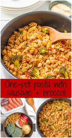 One pot pasta with s