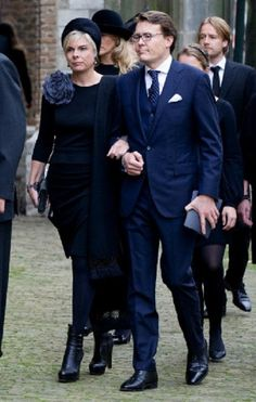 Dutch Prince Constantijn and Princess Laurentien arrive at the Old Church in Delft, The Netherlands, for the memorial of Prince Friso, 02.11.13.