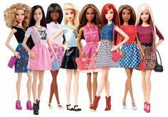 A boneca mais famosa do mundo, Barbie, acaba de ser reinventada. A boneca que sempre foi sinônimo de perfeição, ganhou agora novas cores e estilos de cabelos, além de novos tons de pele.