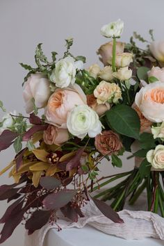 Fall Wedding Bouquet - Victoria Ezhenkova Photography