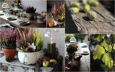 U nás na kopečku: Všechno září Label, Autumn, Table Decorations, Search, Plants, Home Decor, Decoration Home, Fall Season, Room Decor