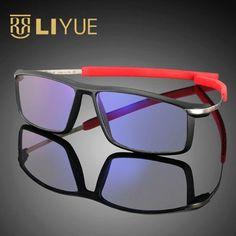 c755450395   OFF   Sports Optical Frame Men Ultra Light Eyeglasses Computer Glasses  Blue Ray Spectacles Frame Anti Radiation Eyeglasses 588