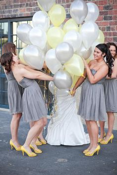 """Wedding photography - """"first look"""" pictures - News & Upcoming Events - Yellow Grey Weddings, Gray Weddings, Yellow Wedding, Wedding Colors, Wedding First Look, Perfect Wedding, Dream Wedding, Wedding Goals, Wedding Pics"""