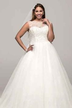 31 Jaw-Dropping Plus-Size Wedding DRESSES-THIS IS MY DREAM DRESS.  NO LIE. I AM ABSOLUTELY SERIOUS.