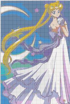 Sailor Moon x-stitch