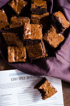 The Baked Brownie, Spiced Up | food of the gods | Pinterest | Brownies ...