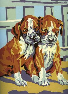 Dog Paint By Numbers - I Antique Online