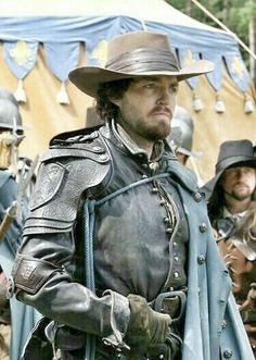 Tom Burke (as Athos in the BBC's Musketeers