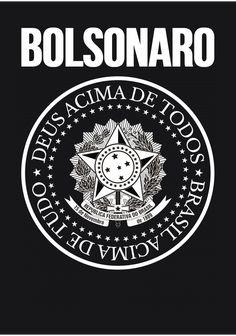 Camiseta Bolsonaro: Brasil Acima de Tudo, Deus Acima de Todos