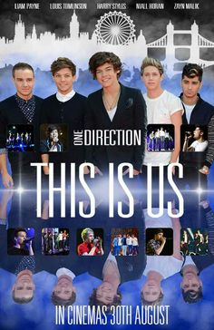 ∞ One Direction [1D] → This Is Us Movie Poster - August 30, 2013