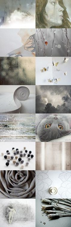 Brave: paulamattson by Sonja on Etsy Colour Schemes, Color Trends, Color Patterns, Color Me Beautiful, Beautiful Images, Collages, Color Collage, Mood Colors, Color Harmony