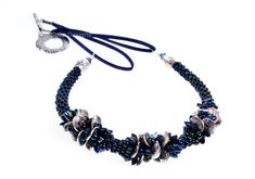Another variation on my Legana Wave Neckalce. Hoping to be teaching this at Noseks Just Gems soon Uk Shop, Wave, Beaded Necklace, Gems, Teaching, Handmade, Shopping, Beautiful, Jewelry