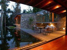 Absolutely Stunning Mid Century Modern Backyard Patio Pool