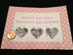 DIY Scratch Off Valentines for KIDS!