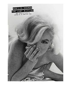 Being the last photographer granted a sitting with Marilyn Monroe before her death, Bert Stern has collected his favorite photographs of the iconic film star into one beautiful volume. His photos are accompanied by conversations with the actress to paint an even more detailed image of the scene.