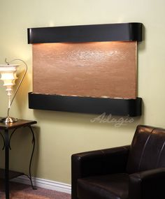 An interior water wall is ideal for the home and radiates grace. Has anyone ever told you putting an artistic water fountain inside of your partner's home can create a better living environment? This is the truth.www.waterfeaturesupply.com/waterwalls/indoor-wall-water-fountains.html