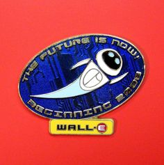 Disney Pin 62853 WDW - Disney-Pixar's WALL-E Countdown LE Eve Pin 2