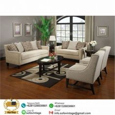 Set Sofa Ruang Tamu Minimalis Saitama Harga