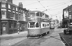Tram on Paddington Liverpool