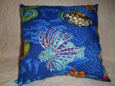 115  1 Nautical Theme Novelty Pillow  16 1/2 by NoveltyPillows4All, $29.00