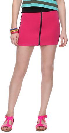 #Forever21                #Skirt                    #Colorblock #Zipper #Skirt #FOREVER21 #2000034006   Colorblock Zipper Skirt | FOREVER21 - 2000034006                              http://www.seapai.com/product.aspx?PID=91158