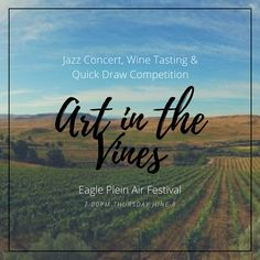 Jazz concert, wine tasting & quick draw painting competition