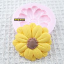 Y&XL&H One Hole Sunflower Silicone Mold Fondant Molds Sugar Craft Tools Chocolate Mould For Cakes Resin Molds, Soap Molds, Silicone Molds, Fondant Molds, Cake Mold, Gadgets, Sugar Craft, Cake Decorating Tools, Baking Tools