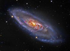 A Spiral Galaxy with a Strange Center - ESO/NAOJ/NASA