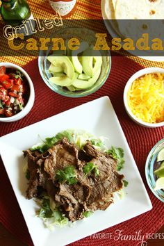 Grilled Carne Asada (and Carne Asada Burritos)