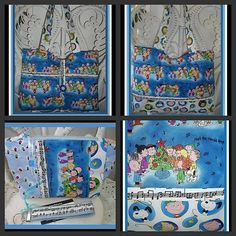 fun Christmas purse set, think gift :)  Think for Me,,Its Gorgeous,,I Love Charlie Brown,,,