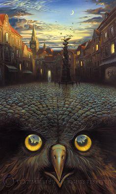 I like Vladimir Kush's work
