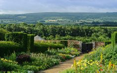 Centuries-old walled gardens are being cultivated around Britain and inspiring   gardeners in their own homes