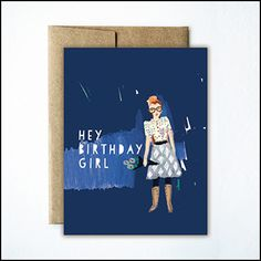 - Single Card with matching kraft envelope - Blank inside - Eco-friendly / recycled PCW chlorine-free paper Bday Girl, Kraft Envelopes, Free Paper, Cute Cards, Paper Goods, Birthday Cards, Recycling, Stationery, Greeting Cards