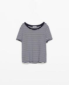 Image 7 of ORGANIC COTTON T-SHIRT from Zara