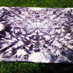 Tie Dye Tapestry DIY