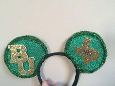 Baylor graduation Mickey Mouse ears! #SoMuchSicEm