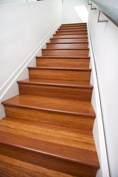 Stair Nosing in Coffee Bamboo Flooring