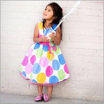 Cute little girl's clothing