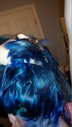 i went blue with arcticfoxcolor in poseidon and