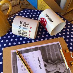Has visto ya el último #diy en el blog? Tazas decoradas con el kit de @idoproyect