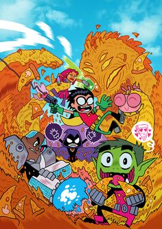 TTGO COVER by Dan Hipp, who is also the art Director for the show.