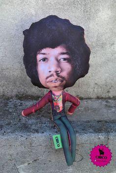 Jimmy Hendrix by Circo diseños!
