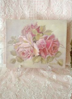 Gorgeous Christie Repasy Roses Canvas Artwork